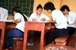 Xử lý một loạt giám thị ở Hà Nội vi phạm quy chế thi