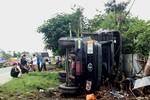 Xe quân sự của Quân khu 9 bị nạn: 1 người chết, 19 người bị thương
