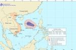 Áp thấp nhiệt đới đang mạnh lên và có thể thành bão ở Biển Đông