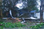 Những hình ảnh mới nhất về cơn bão số 11 tàn phá tại Quảng Nam