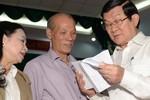 Chủ tịch nước Trương Tấn Sang: Tôi không tin chỉ 1% công chức yếu kém