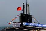 Xúc động lễ thượng cờ bàn giao tàu ngầm tại căn cứ Cam Ranh
