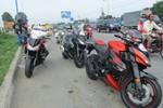 CSGT xử phạt hàng loạt môtô 'khủng' vi phạm giao thông