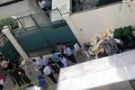 Nổ nhà kho Lãnh sự quán Mỹ do bình cứu hỏa bị mở van xả phát nổ