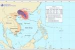 Bão số 7 suy yếu và tiến sâu vào vịnh Bắc Bộ, Hà Nội không mưa