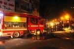 Cháy lớn tại chung cư khu vực phố Tây ở Sài Gòn