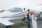 Nathan Lee khoe máy bay 14 triệu USD của Thu Minh