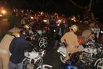 Hàng trăm xe máy vi phạm bị bắt vào rạng sáng 2/9 tại TP Vũng Tàu