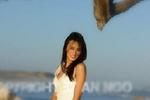 Vợ cũ làm đám cưới trên biển sau hôn nhân đổ vỡ với Lam Trường