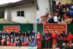 Trao điểm trường mơ ước nơi vùng cao mây trắng của huyện Hoàng Su Phì