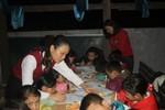 Ấm lòng, lớp học miễn phí giữa mùa Đông bản Tày