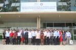 Lãnh đạo Hiệp hội thăm và làm việc tại trường Đại học Quốc tế Miền Đông