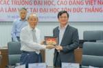 Hiệp hội đại học và cao đẳng Việt Nam thăm và làm việc tại Đại học Tôn Đức Thắng