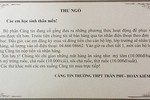 """Căng tin THPT Trần Phú """"nổi tiếng"""" khi đặt hàng qua tin nhắn"""