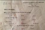 Bài kiểm tra 8 điểm môn Toán lớp 1 gây tranh cãi trên mạng