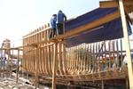 Tàu cá vỏ gỗ đóng theo mẫu của Thái Lan có gì đặc biệt?