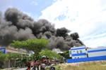 Cháy nổ lớn tại kho chứa sơn ở Đà Nẵng
