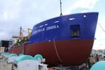 Hạ thủy tàu TSHD 2000 thực hiện nhiệm vụ ở vùng phía bắc nước Nga