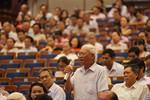 Cử tri Đà Nẵng hỏi ông Đinh Thế Huynh về sự cố môi trường Formosa