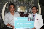 Đại gia Lê Ân giúp 3 đứa bé mồ côi trong vụ lật ghe ở Quảng Nam