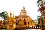 Cận cảnh 2 ngôi chùa có treo ảnh của gia đình ông Trầm Bê