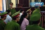 """Ảnh: """"Hoa hậu bán dâm"""" Mỹ Xuân tại phiên tòa"""