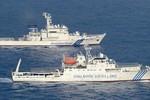 Nhật Bản phát hiện tàu Hải giám, tàu CSB Đài Loan cùng ở Senkaku