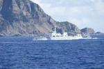 """4 tàu Hải giám """"bám trụ"""" Senkaku kiên trì """"xua"""" CSB Nhật Bản"""