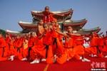 Nam Thiếu Lâm tổ chức đại hội võ lâm, biểu diễn tuyệt kỹ kungfu