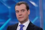 Thủ tướng D.Medvedev: Tôi đến Việt Nam với tình cảm nồng ấm