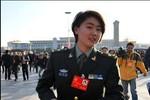 """""""Chân dài 9x"""" dự đại hội 18 đảng Cộng sản Trung Quốc"""