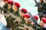 """Trung Quốc: Huấn luyện học sinh mẫu giáo """"bảo vệ đảo Điếu Ngư"""""""
