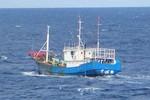 """Nhật Bản lại """"tóm"""" được 7 ngư dân Trung Quốc xâm nhập đánh trộm cá"""