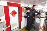 Hải giám Trung Quốc trương câu đối tết ở Senkaku: Rắn trắng hiển uy