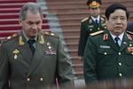 Bộ trưởng Quốc phòng Nga đã ghé thăm Cam Ranh hôm thứ Hai