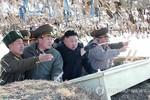 """Kim Jong-un chỉ đạo pháo binh tập trận """"hủy diệt"""" 2 đảo Hàn Quốc"""