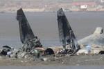 Xác chiếc Su-27 Trung Quốc bị rơi và danh tính 2 phi công thiệt mạng