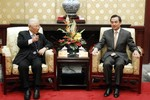 Các tướng Đài Loan về hưu thăm Quân ủy trung ương Trung Quốc