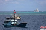 32 tàu cá Trung Quốc đã xâm phạm hải phận quần đảo Trường Sa