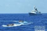 Trung Quốc lặng lẽ điều 2 cụm chiến hạm tập kết trái phép ở Biển Đông