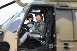 Tổng thống Hàn Quốc trực tiếp kiểm tra thử nghiệm trực thăng tấn công