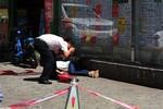 Một phụ nữ Trung Quốc bị chém đứt đầu giữa phố