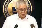 Philippines gửi thông điệp Biển Đông đến các đại sứ quán, tổ chức QT