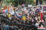 """Philippines: 2000 người biểu tình trong """"ngày đen tối nhất"""" Biển Đông"""