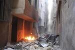 Phe Assad tấn công dữ dội phiến quân ở phía Tây ngoại ô Damascus