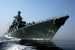 Chiến hạm hạm đội hải quân Nga sẽ tới Biển Đông