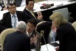 Video: Đại biểu Triều Tiên đập bàn tại Liên Hợp Quốc