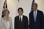 SCMP: Ngoại trưởng Mỹ - Nhật - Úc cùng phản đối Trung Quốc ở Biển Đông
