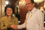 Ngoại trưởng Philippines mở tiệc chia tay Đại sứ Trung Quốc
