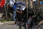 Tấn công bất ngờ trạm kiểm soát nhóm ly khai Slaviansk, 5 người chết